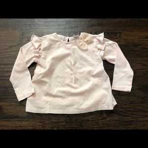 Zara Baby Girl Embroidered Blouse